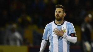 Lionel Messi admits he fears contracting Covid-19 while on international duty with Argentina