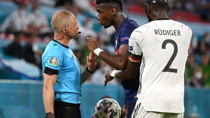 Did Rudiger try and bite Pogba?
