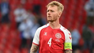 The hero of Euro 2020: Kjaer redefines what it means to be a captain with vital Eriksen intervention