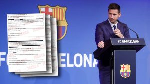 Complaint filed aiming to block Messi's PSG move